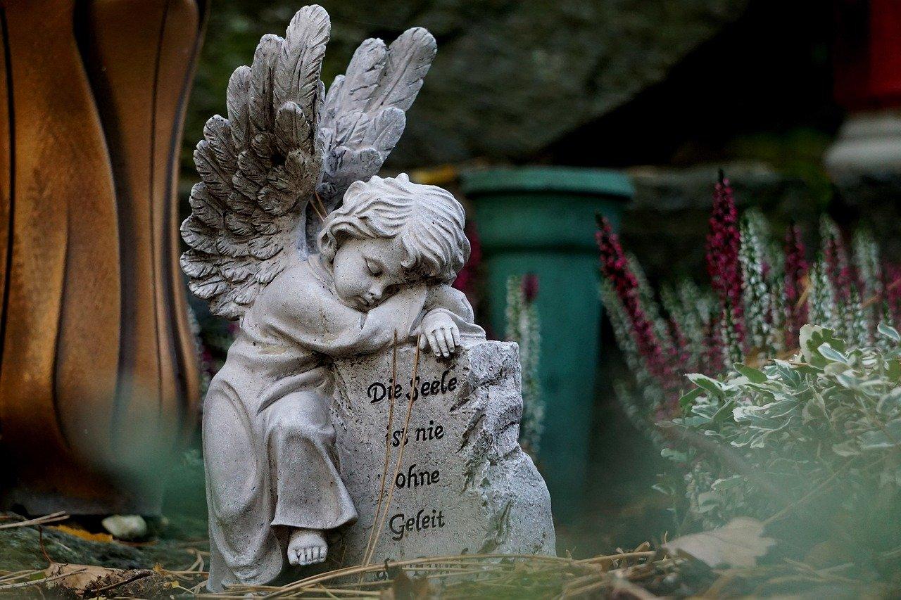 angel, angel figure, angel wings